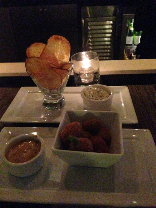Chef Michael Schlow's bar snack at the Sunset Marquis restaurant.